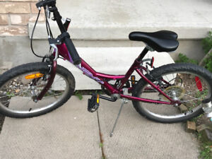 "Girl's 22"" bike for sale"