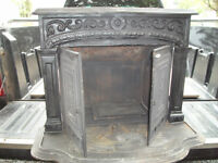Antique wood  stove by Fawcett