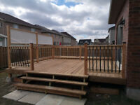 Fence, Decks, Post Holes. Fence Repair