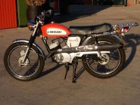 KAWASAKI BUSHMAN 1970 90cc