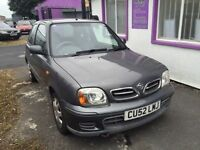 nissan micra 1.0, low milage