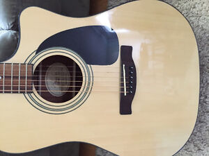 CD-60CE Natural Acustic Electric Guitar