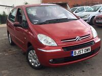 Citroen Xsara Picasso 1.6 HDi Diesel + FAMILY CAR WITH FULL SERVICE HISTORY + 12 MONTHS MOT