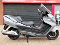 SUZUKI AN 400 AL4 BURGMAN ABS 2015 LOW MILES FDSH LONG MOT HPI WARRANTY FINANCE