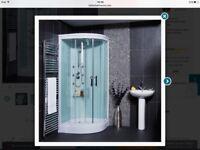 Brand new Aqualine™ Hydromassage Shower Cabin with 6 Body Jets