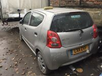 2011 SUZUKI ALTO 1.0 £0 ROAD TAX DAMAGE REPAIRABLE