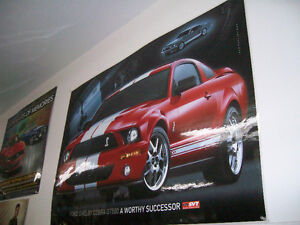 Poster / Affiche Mustang Shelby GT-500 2008 + 1968 GT-500 West Island Greater Montréal image 2