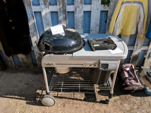 Weber Charcoal BBQ with Electric Starter