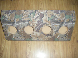 Camo Sub Box Measures 36x13x14x14 inches