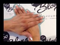 Salon So Blonde. Manicure, pedicure, pose d'ongles Gel UV