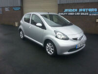 2008 Toyota AYGO 1.0 VVT-i AYGO PLATINUM,5 DOOR,ONLY 62000 MILES WITH FULL