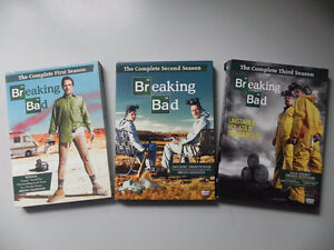 Série Breaking Bad Saison 1-2-3 en DVD