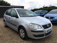 VW POLO 1.2E 2006 5DR IDEAL FIRST CAR CHEAP INSURANCE FULL SERVICE HISTORY
