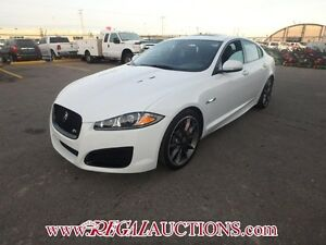 2013 JAGUAR XF XFR 4D SEDAN 5.0L XFR