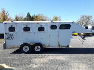 3 Horse Gooseneck Trailer