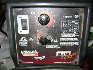 Lincoln Wire Feed Welder