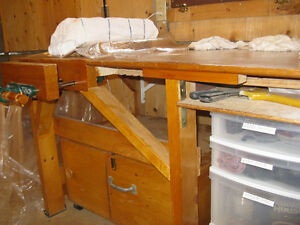 For sale, a free standing 14'x10'x8' woodworking shop. Kawartha Lakes Peterborough Area image 5
