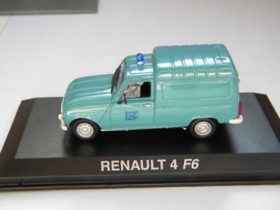 Renault 4F6 EDF 1982 Norev 511052 1:4