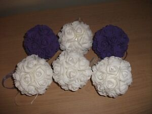 Flower Balls (wedding)