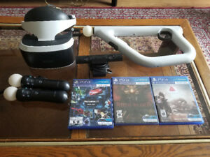 PSVR for sale - all packaging and manuals included 450 obo