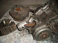 1970's Honda 125 2 stroke engine