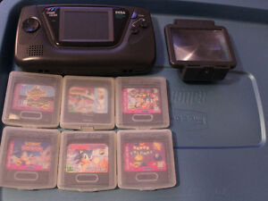 Game Gear + Sonic games