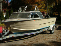 WANTED - 20 TO 24 FOOT ALUMINUM VHULL CUDDY