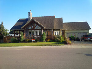 Rare Find!!  A custom built home in the town of Nobleford.