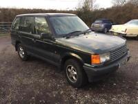 Range Rover 2.5 auto DSE *FSH* 4x4 Land Rover *1 years MOT*