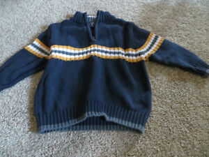 boys size 3T 1/4zip Children's Place Sweater