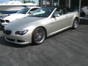 Beautiful 2008 BMW 650i Convertible.