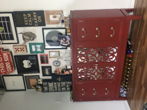Hutch dining cabinet