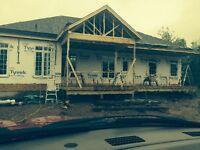 Roofing sinding windows and doors