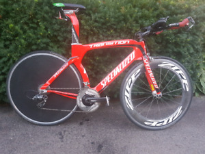 Specialized Transition Pro with Race Wheels and Power Meter