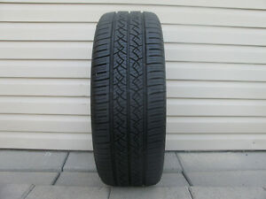 ONE (1) CONTINENTAL TRUE CONTACT TIRE /225/55/19/ - $40