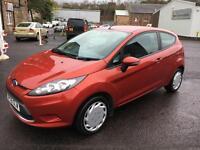 0909 Ford Fiesta 1.25 ( 82ps ) Style Red 3 Door 62786mls MOT 12m