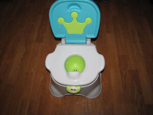 Training potty fit for a little King!