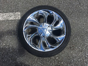 4 Rims and Tires (Yokohama) 4 X 100 14""