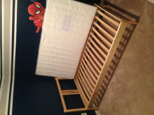 IKEA kids single bed and mattresses