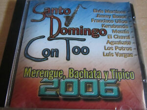 "CD ""Santo Domingo Con Too"" 2006"