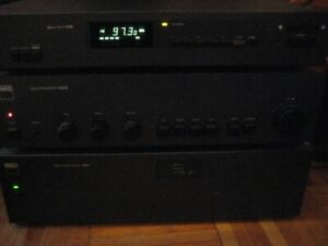 Nad  audio Stereo system  Amplifier Tuner Pre Amp