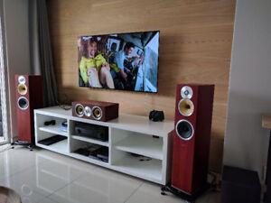 Installation télévision sur le mur
