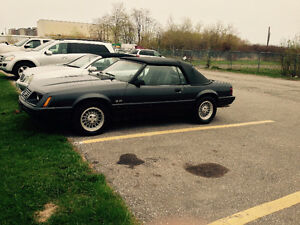1984 Mustang convertible for sale
