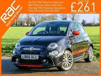 2016 Abarth 500 1.4 T-Jet 145 BHP 5 Speed Bluetooth DAB Radio BEATS Audio 17in A
