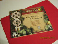 3-D Wooden Holiday Puzzle