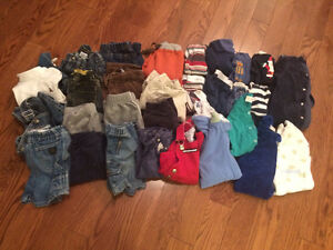 Boys Clothing Size 6-12 mos (Sold as a lot) London Ontario image 1