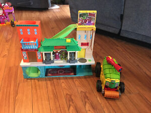 Imaginext Ninja Turtle Hideout
