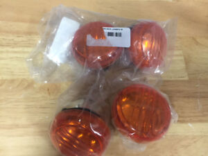Motorcycle Lenses (Front and back) - bulbs included