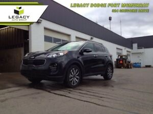 2018 Kia Sportage EX  LEATHER HEATED SEATS, MOONROOF, CAMERA!!