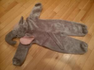 Children's elephant costume